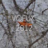 VOEUX 2012 é
