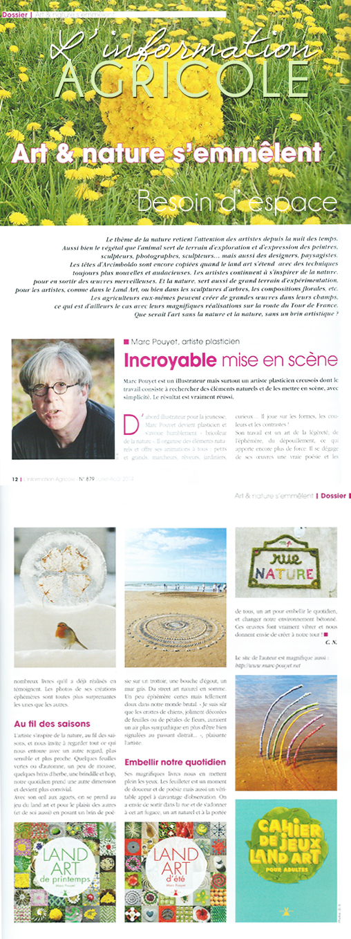 ARTICLE Article L' INFORMATION AGRICOLE