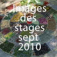 images des stages sept 2010