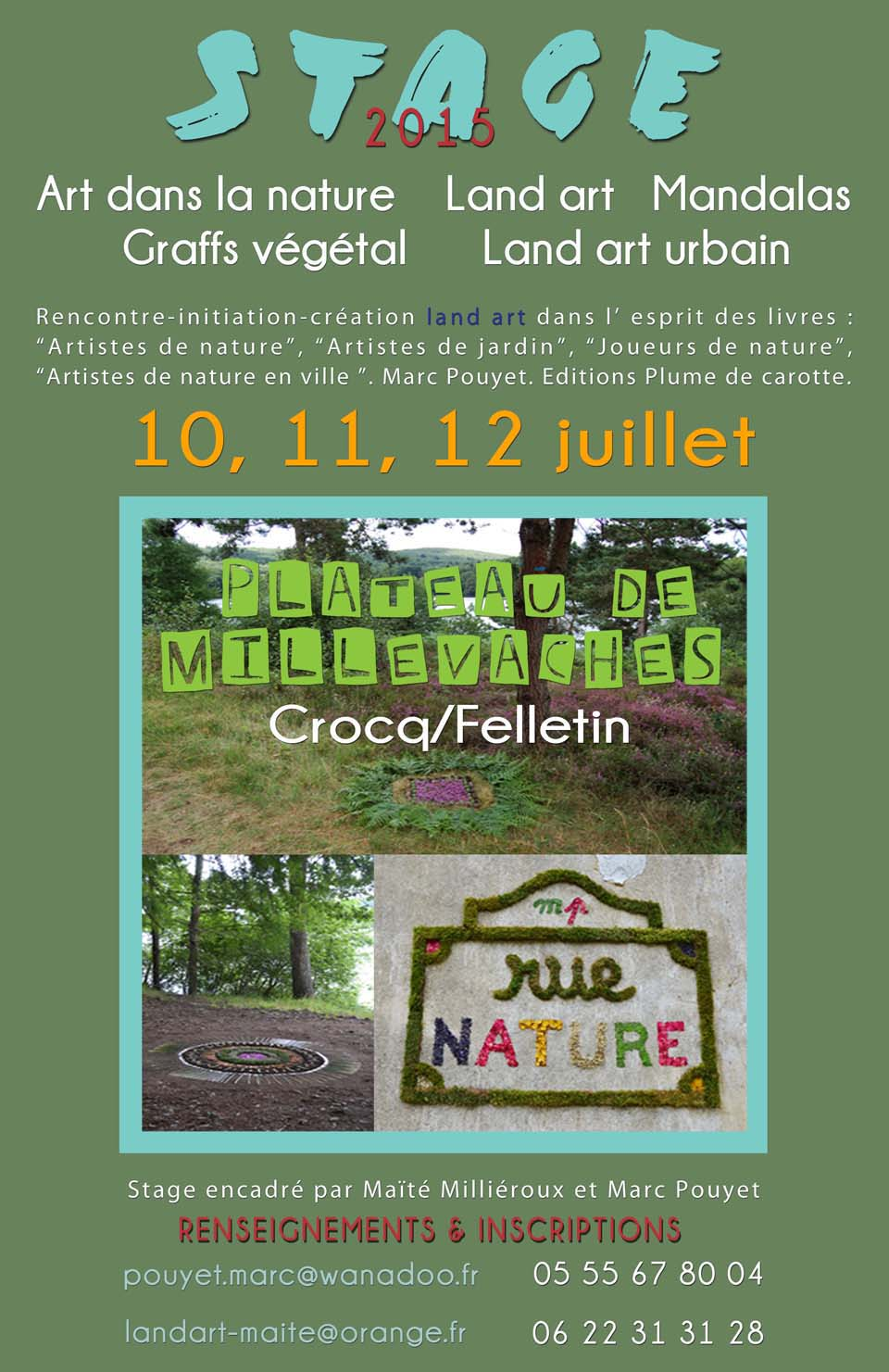 FLYER STAGES CREUSE 21015