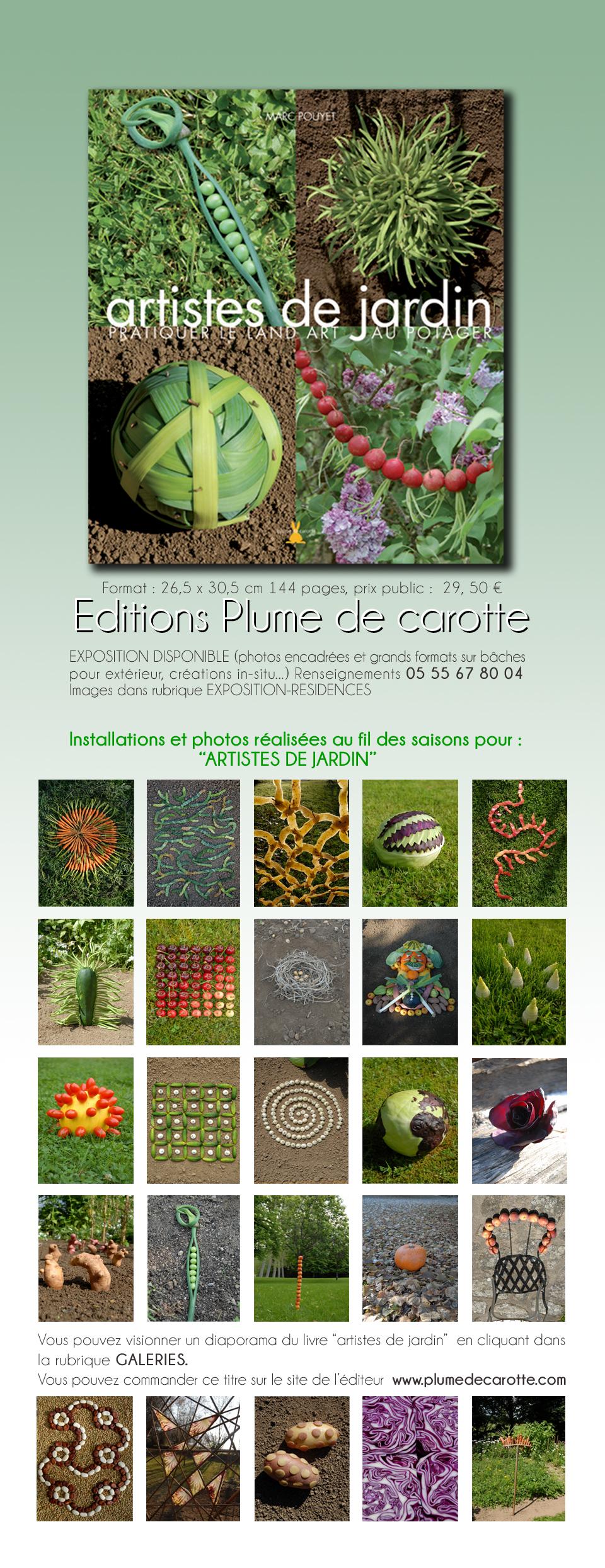 Le livre artistes de jardin 2 for Artistes de jardin