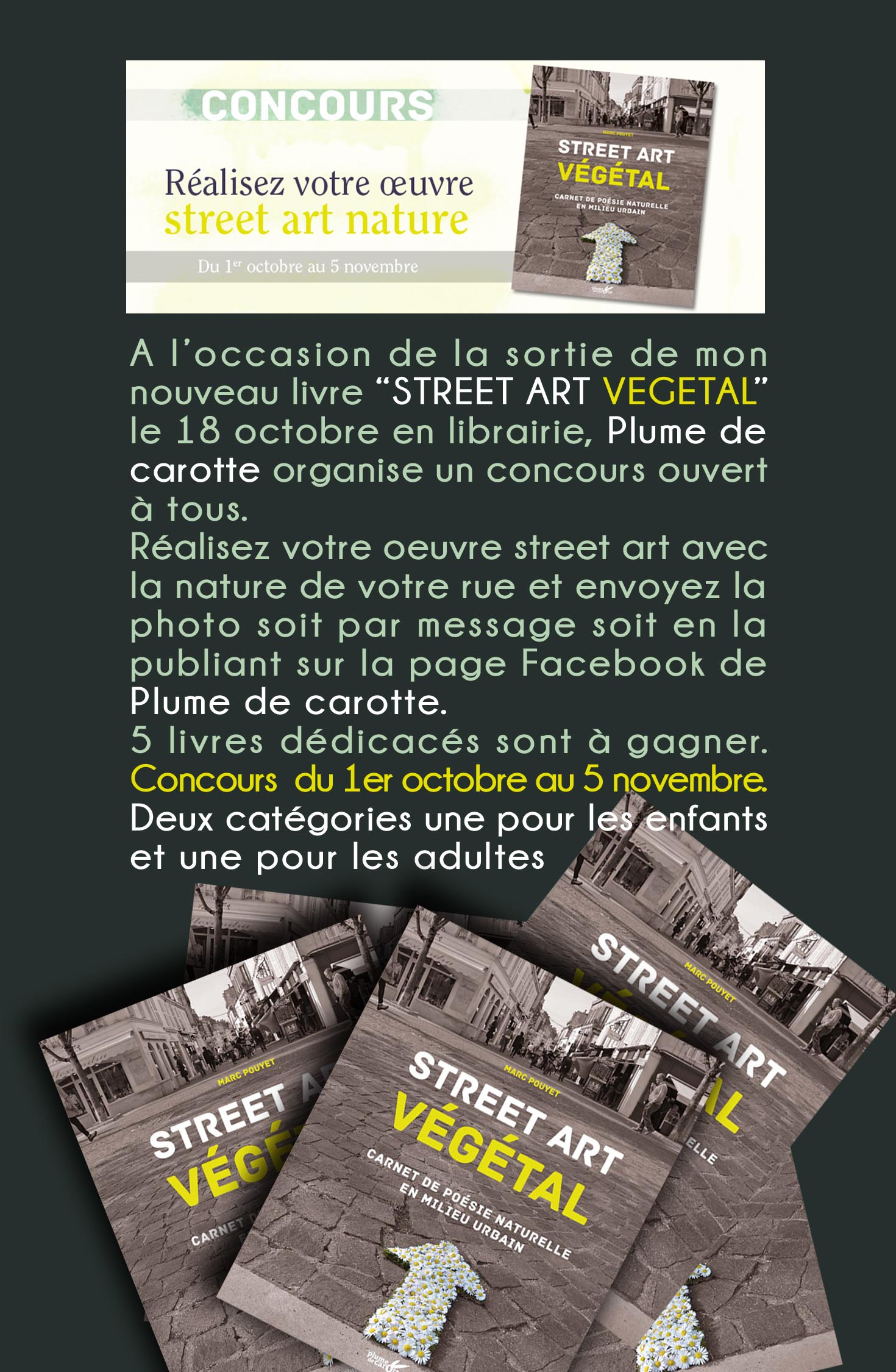 Article  Concour  STREET ART VEGETAL M